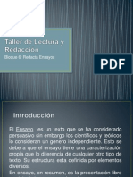 Presentacion de Taller de Lectura y Redaccion
