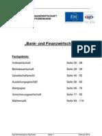 Bachelor Aufnahmeskriptum 2012
