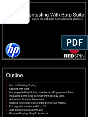 Pen Testing With Burp Suite | Java Virtual Machine | Software