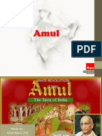 Amul Supply Chain Management Ppt