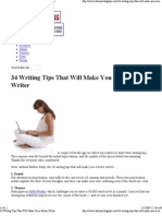 (2) 34 Writing Tips That Will Make You a Better Writer