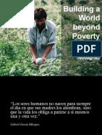 Construyendo un mundo más allá de la pobreza