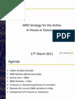 Jet Airways MRO Market