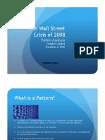Profitable Readings Wall Street Crisis Case Study
