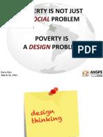 La pobreza como un problema de diseño