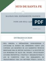 Manejo Del Expediente Clinico
