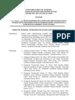 No.163 Th.2009 Ttg Petunjuk Tekhnis Pelaksanaan Pelatihan Dan Sertifikasi Calon TKI PENATA PELAKSANA RT Wil.timur Tengah