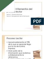 UNIDAD II Elementos Del Proceso Lector (2)