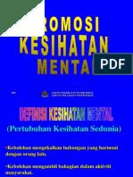 Remaja Dan Kesihatan Mental