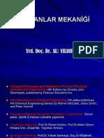 Akışkanlar mekaniği Yrd.Doç.Ali YILDIRIM-1.bölüm