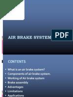 Air Brake System Power Point