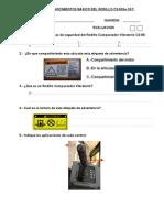 Examen de Compactad0r Cs-533e Mayo 2011