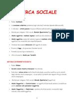 Paolo Natale - La Ricerca Sociale - Riassunto