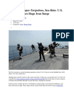 US Launches Huge Iran Surge