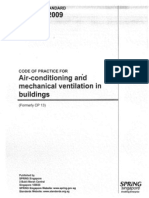 SS553_2009 - Air Conditioning & Mechanical Ventilation in Buildings
