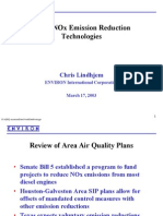 Diesel Nox Reduction Technologies