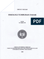Diktat Kuliah Fisiologi Tumbuhan Dasar