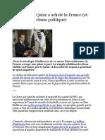 Comment le Qatar a acheté la France upby zavpix