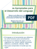Presentación sobre Módulo Educativo - Módulo 4
