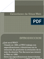 Estandares Web
