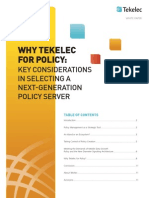Key Considerations in Selecting a Next-Generation Policy Server