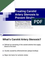 Carotid Artery Stenosis