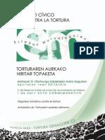 II Foro Cívico contra la Tortura