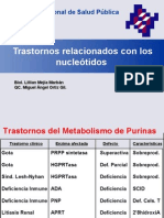 Deficiencias Del Metabolismo de Purinas y as