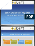 dSHIFT Migrator for Could Migration