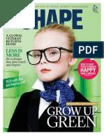 SCA magazine SHAPE 1 / 2012 focusing on green money