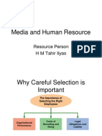 Media and Human Resource