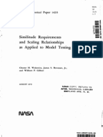 Similarity Requirements and Scaling Relationships as Applied in Model Testing