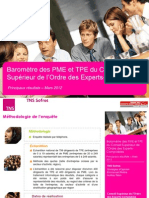 Baromètre PME-TPE - mars 2012