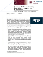 2011 07 Malaysia Banking Update Business Strategies and Investment Priorities IDC