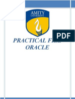 Oracle practical File