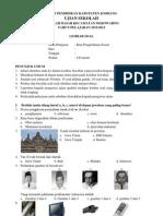 Soal Ujian Sekolah Ips Kelas Vi