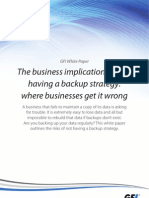 The Business Implications of Not Having a Backup Strategy