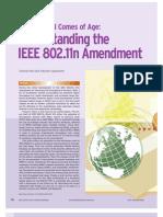 Understanding IEEE802 11n