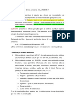 Direito Ambiental AULA 1 30.05.11
