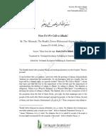 How Do We Call to Allaah? by 'Allaamah, The Shaykh, Doctor Muhammad Amaan bin 'Alee al-Jaamee