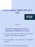 Industrial Disputes Act-1947