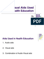 Audio Visual Aids Used in Health Education