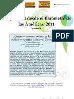 Perspectivas desde el Barómetro de lasAméricas2011