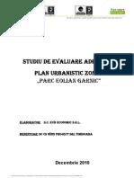 Evaluare Adecvata PUZ Parc Eolian Garnic
