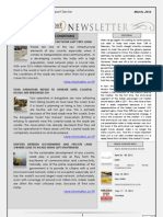 India Transport Portal Newsletter - March, 2012