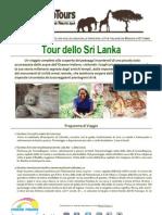 Speciale Tour dello Sri Lanka Scirocco Tours by Press Tours - da Maggio a Ottobre 2012