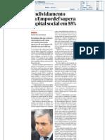 Público - Endividamento da Empordef supera capital social em 55% - 21
