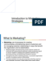 Marketing Strategies Foundation