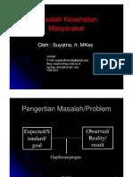 Ikm7 Masalah Kesehatan Masyarakat