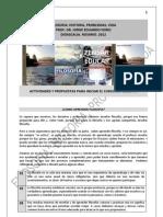 104. ACTIVIDADES Y PROPUESTAS PARA INICIAR EL CURSO DE FILOSOFIA